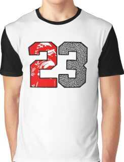 23 Cement Graphic T-Shirt