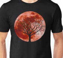 Red Moon Tree Unisex T-Shirt