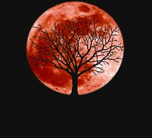 Red Moon Tree Unisex T-Shirt