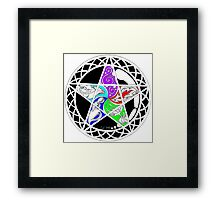 Five Elements Colour Version Framed Print