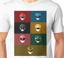 Mighty Morphin Power Rangers Unisex T-Shirt