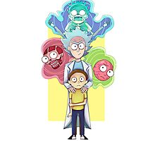 Anatomy of Morty Smith Photographic Print