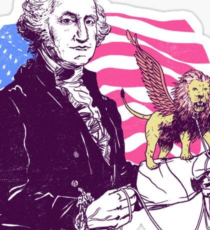 Pegalion Washington Sticker