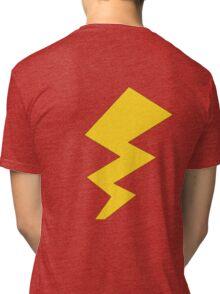 The Yellow Lightening Bolt Tri-blend T-Shirt
