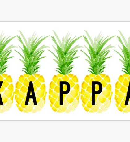 Kappa Pineapples Sticker