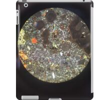 Minerals under the Microscope iPad Case/Skin