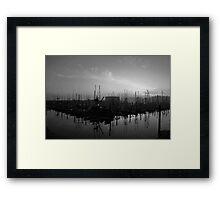 Sleeping Ships Framed Print