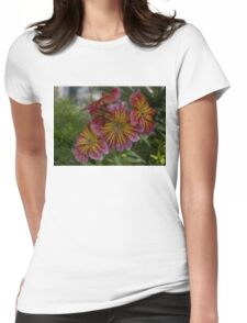 Exotic Spring Flowers  Womens Fitted T-Shirt