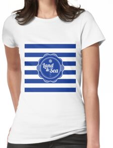 Nautical Design 04 Womens Fitted T-Shirt
