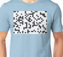 black white sudoku Unisex T-Shirt