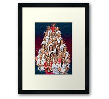 One Year World Cup Champions Framed Print