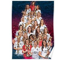 One Year World Cup Champions Poster