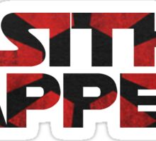 Sith Happens- Star Wars Sticker