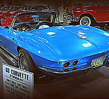 63 Corvette Sting Ray by kkphoto1