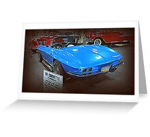 63 Corvette Sting Ray Greeting Card