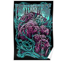 Four Year Strong Wolves Poster