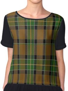 01732 Brandon (Manitoba) District Tartan Chiffon Top