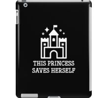 This Princess Saves Herself iPad Case/Skin