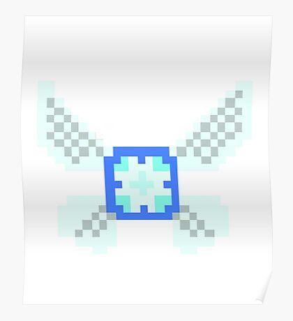 Pixel Navi Zelda Poster