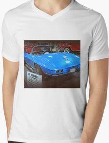63 Corvette Sting Ray Mens V-Neck T-Shirt
