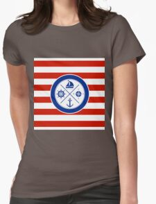 Nautical Design 06A Womens Fitted T-Shirt
