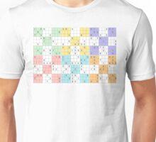 pastel sudoku Unisex T-Shirt