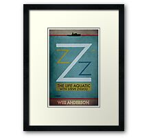 The Life Aquatic With Steve Zissou - Wes Anderson  Framed Print