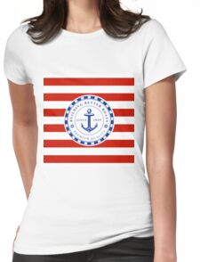 Nautical Design 07A Womens Fitted T-Shirt