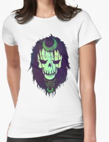 Enchantress Graph Womens Fitted T-Shirt