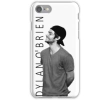 Dylan O'Brien - Black and White iPhone Case/Skin