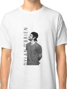 Dylan O'Brien - Black and White Classic T-Shirt
