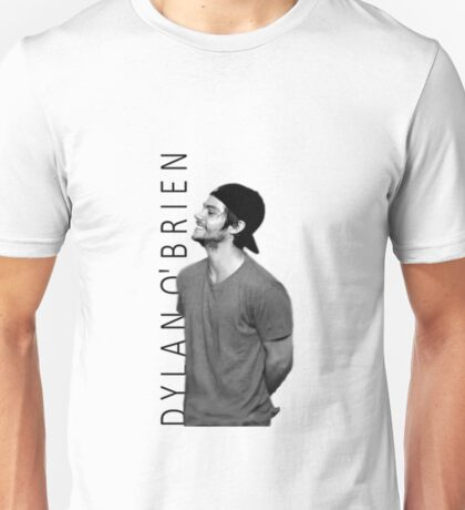 Dylan O'Brien - Black and White Unisex T-Shirt