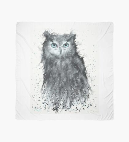 Blue Eye Owl Scarf