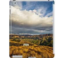 Hut in the hills iPad Case/Skin