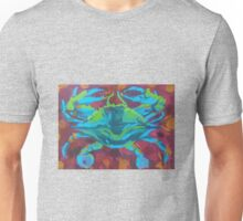 Blue Crab Blues Unisex T-Shirt