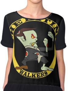 The Fighting Walkers with Logo Chiffon Top