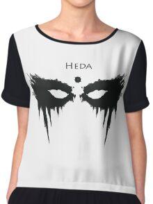 Heda, The 100 Chiffon Top