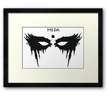 Heda, The 100 Framed Print