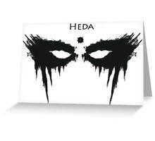 Heda, The 100 Greeting Card