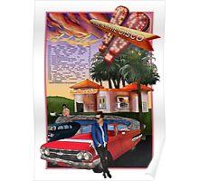 Panic! at The Disco Weezer Tour Poster