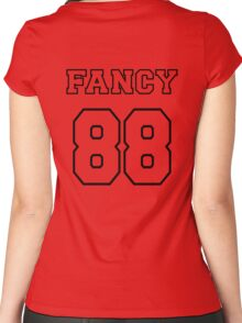Fancy 88 - on light colors Women's Fitted Scoop T-Shirt