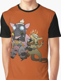 JunkRAT and RoadHOG Graphic T-Shirt