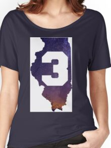 Chance The Rapper 3 State  Women's Relaxed Fit T-Shirt