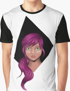 Purple is serious Graphic T-Shirt