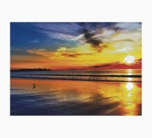 Sizzling Sunrise at Hampton Beach One Piece - Short Sleeve