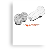 SQUASH ~  Canvas Print