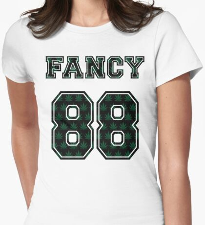 Fancy 420 Womens Fitted T-Shirt
