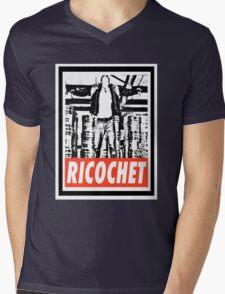 Ricochet Mens V-Neck T-Shirt
