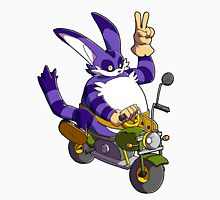 Big the Cat enjoys his ride Unisex T-Shirt