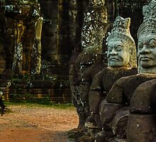 Dogs at Angkor Thom by ChelcieSPorter